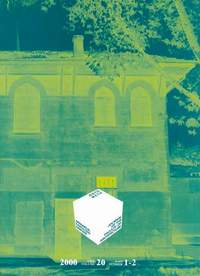Volume 20 Cover